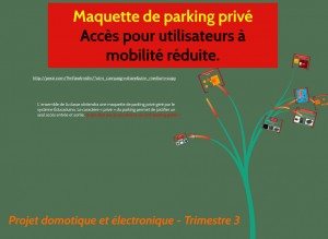 projet parking educaduino eurosmart